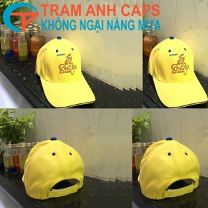 Tram Anh Caps' advertising cap - travel with typical brands